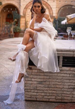 Short Long Sleeve Wedding Dresses