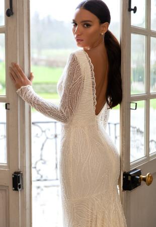 Spring Long Sleeve Wedding Dresses