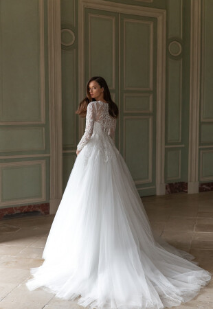 Winter Long Sleeve Wedding Dresses