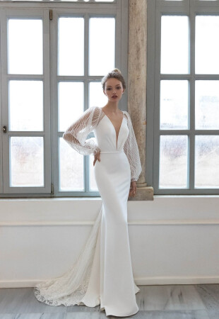 Summer Long Sleeve Wedding Dresses