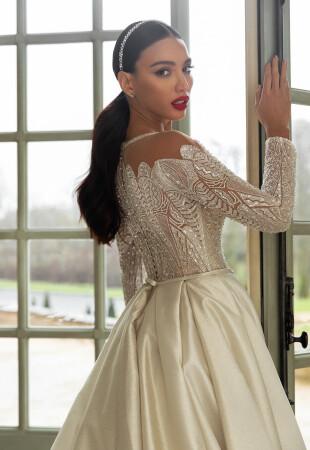 Princess Long Sleeve Wedding Dresses