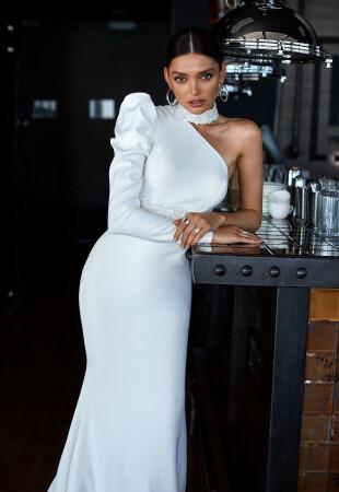 Simple Long Sleeve Wedding Dresses