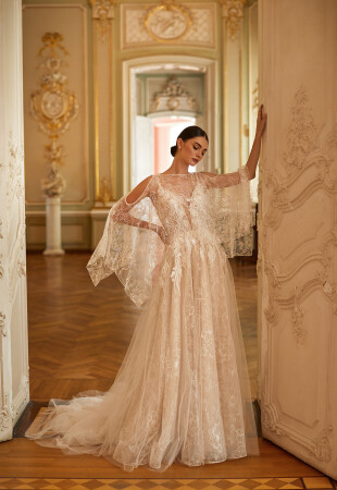 Long Sleeve Capes for Wedding Dresses