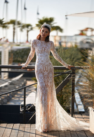 Elegant Long Sleeve Wedding Dresses