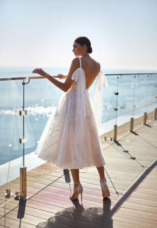 Свадебные платья до щиколотки