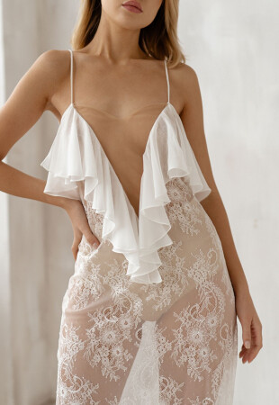 elegant bridal nightwear