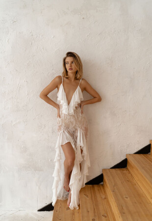 wedding robes for bride, dress for first night after marriage, honeymoon nighty dress