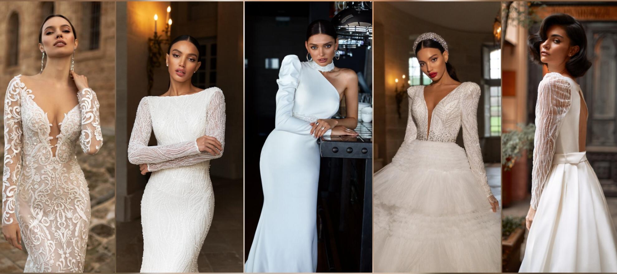 Long Sleeve Wedding Dresses [ 880 x 1980 Pixel ]