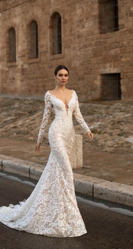 lace sleeve wedding dresses, mermaid dress wedding, wedding dress long sleeves