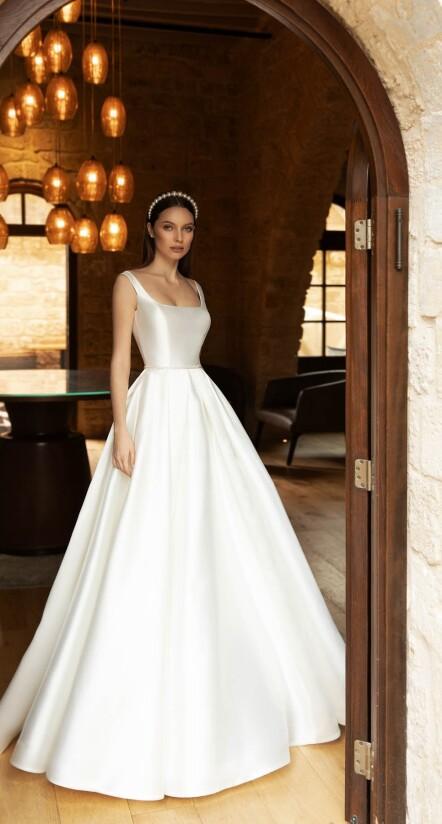 wedding dresses aline, wedding dresses classic, luxury wedding dress