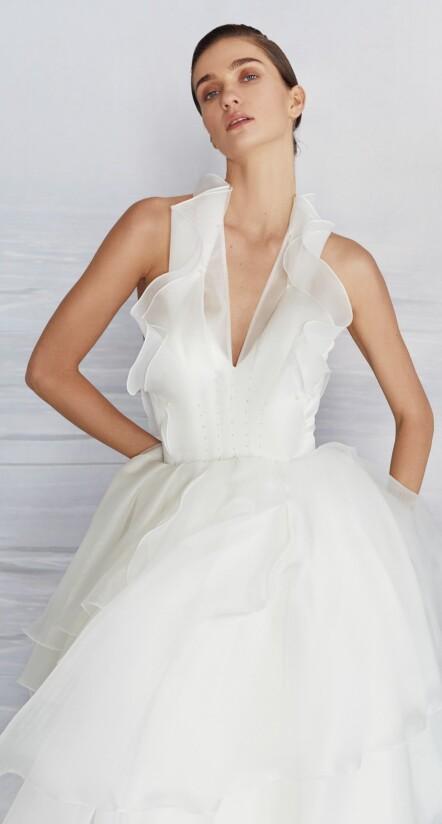 wedding dresses organza, wedding dress tulle, unique wedding dress