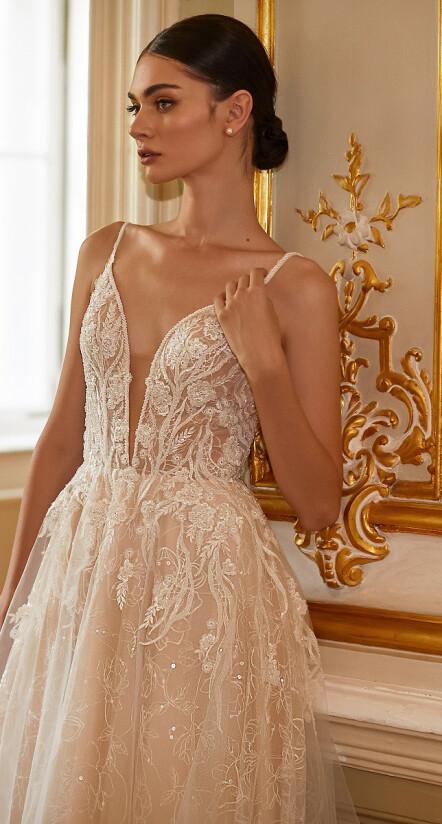 свадебное платье цвета айвори, свадебное платье